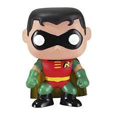 dc comics universe batman robin funko pop heroes amazon