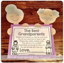 grandparents day writing paper little 100 year olds a craftivity for grandparent s day or 100th for grandparent s day you can make a craft with both grandparents and a sweet poem