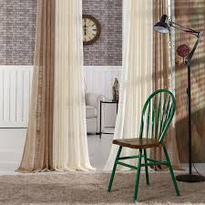 brief solid color tulle curtain screens balcony window curtain