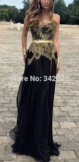great gatsby inspired prom dresses aliexpress com buy ph15601 black and gold gown gatsby inspired