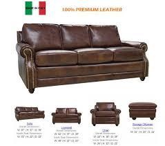 Ital Leather Sofa Lk Lev Italian Leather Sofa Set