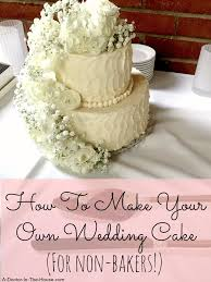 how to make your own wedding cake andrea tooley