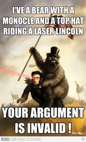 Your Argument Is Invalid Meme - your argument is invalid fridayfivechallenge from rosieamber1