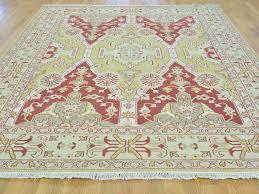 8 u0027x10 u0027 soumak with angora oushak design flat weave hand woven rug