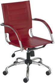 Leather Office Chair Safco Flaunt Contemporary Leather Office Chair 3456