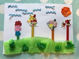flower crafts to do with your children this spring we made this life