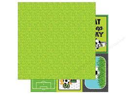 doodlebug se doodlebug 12 x 12 in paper goal soccer field 25 sheets