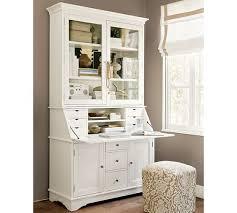 Office Hutch With Doors Graham Desk U0026 Hutch Pottery Barn