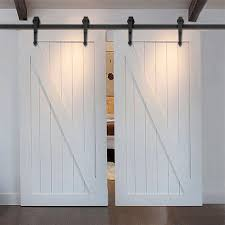 Exterior Door Hardware Rustic 7 5ft 16ft Modern Country Style Steel Sliding Barn Door Hardware