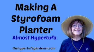 Large Head Planters Making A Styrofoam Planter It U0027s Almost Like Hypertufa Youtube