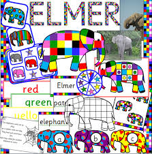 Elmer The Patchwork Elephant Story - elmer the patchwork elephant by lifeoutreach teaching resources