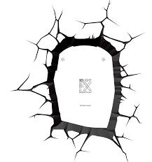 ironman hand ironman head replacement crack sticker