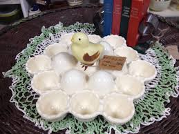 antique deviled egg plate yum deviled egg plates midtown mercantile merc