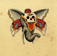 butterfly skull tattoo tattooimages biz