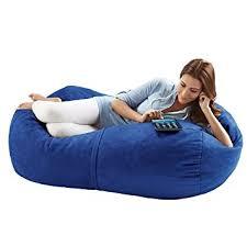 amazon com jaxx bean bags sofa saxx bean bag lounger 4 feet