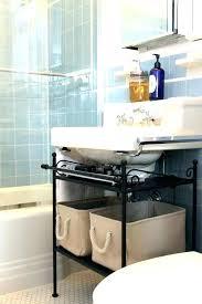 Bathroom Countertop Storage Bathroom Vanity Storage Cabinet Sequoiablessed Info