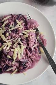 Cooking Italian Comfort Food Red Cabbage Risotto Cooking Chat