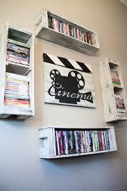 Dvd Shelf Wood Plans by Best 25 Dvd Wall Storage Ideas On Pinterest Dvd Storage Shelves
