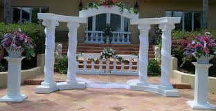 wedding arches for the wedding arches the colonnade wedding arch package rental