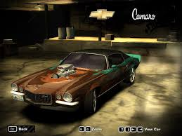 camaro z28 72 need for speed most wanted 72 camaro z28 rs by kaymanovite on