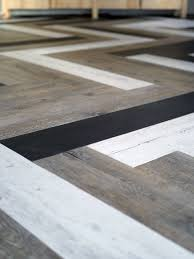 Stick On Laminate Flooring Oh Yes She Diyd Herringbone Floors With Vinyl Stick Down Planks