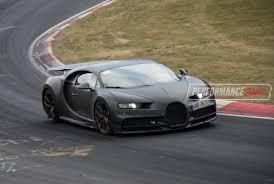 bugatti crash test bugatti chiron spotted testing at nurburgring video