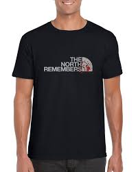 fan made t shirts the north remembers fan made t shirt