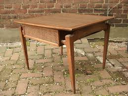 1960 Danish Modern Furniture by Mid Century Modern Side End Table With Drawer Coffee Table Lane