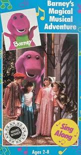 Credits To Barney And The by Barney U0027s Magical Musical Adventure Video 1992 Imdb