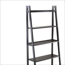 furniture magnificent ladder shelf white narrow bookcase ladder