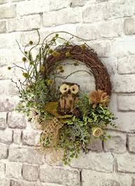 greet your guests with a springtime wreath for your front door