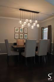 Size Of Chandelier For Dining Table Kitchen Modern Dining Room Chandeliers Dining Lights Above