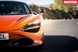 orange mclaren 720s 2017 mclaren 720s review motor