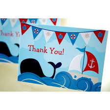 nautical thank you cards nautical thank you cards cbendel nautical ba shower thank you