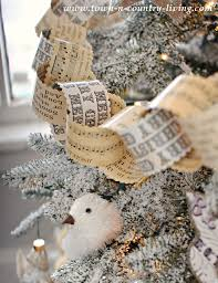 vintage christmas paper vintage christmas paper chain garland town country living