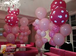 balloon bouquets big pink baby shower balloon bouquets balloons party decorations