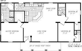 Open Floor Plans For Small Homes Open Floor Plan Modular Homes Large Manufactured Home Plans 18