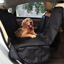 petspy luxury dog car seat cover for all vehicles with side flaps