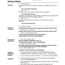 resume exles it professional sle resume for it professional in india best of resume exles