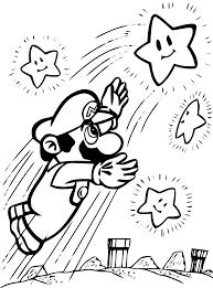 coloriage mario bros les beaux dessins de dessin animé à
