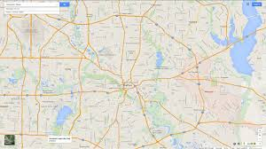 Dallas Ft Worth Map by Mesquite Texas Map