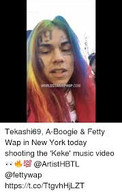 Music Video Meme - worldstarhiphopcom tekashi69 a boogie fetty wap in new york