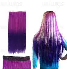 purple hair extensions get the look be purple with hair extensions and lace front wig