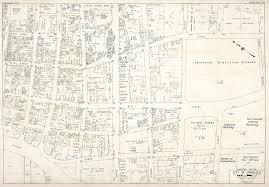 Honolulu Airport Map Ho U0027okuleana Downtown Honolulu In 1950