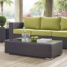 Wicker Patio Coffee Table 72 Comfy Backyard Furniture Ideas