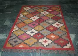 Indian Runner Rug Vintage Runner Rug Handmade Rug Turkish Kilim Rug Floor Classic