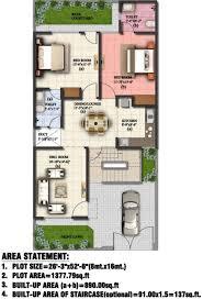 2bhk Plan For 500 Sq Ft 1017 Sq Ft 2 Bhk 2t Villa For Sale In Eldeco Group Regalia Villa