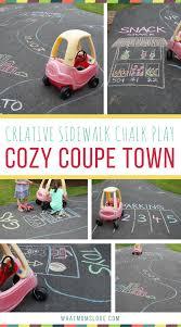 101 genius sidewalk chalk ideas to crush summertime boredom cozy