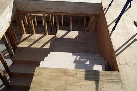 Prefab Basement Stairs Split Landing Staircase