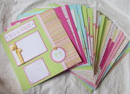12x12 scrapbook albums year scrapbook album 20 baby girl 12x12 premade pages